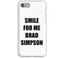 Smile for me Brad Simpson The Vamps iPhone Case/Skin