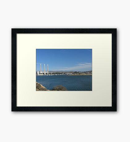 Moro Bay 3 Framed Print