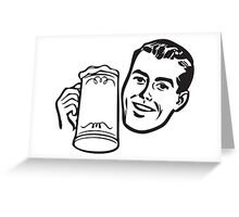 cold drink Greeting Card