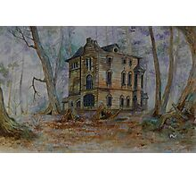 Haunted House 3 Photographic Print
