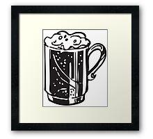 cold mug Framed Print