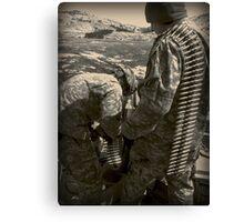 Preparation for Battle Canvas Print