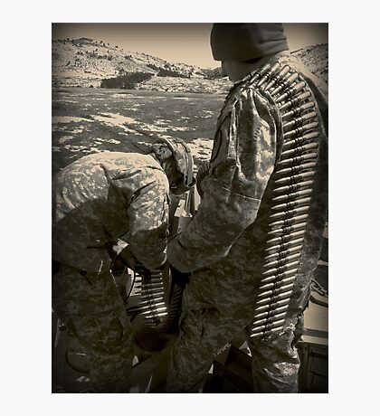 Preparation for Battle Photographic Print