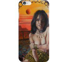 Barsoomian Queen iPhone Case/Skin