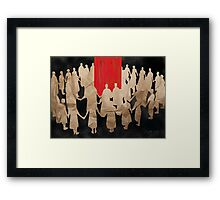 The Daily Ritual  Framed Print