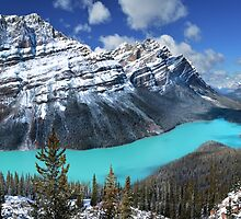 Peyto Lake by John Poon