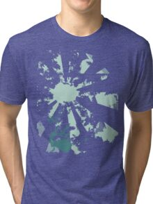 camera blue Tri-blend T-Shirt