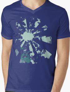 camera blue Mens V-Neck T-Shirt