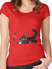 Arrow Kitten Women's Fitted Scoop T-Shirt
