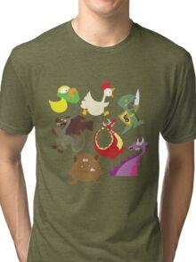 munchkin monsters Tri-blend T-Shirt