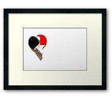 Ping pong go Framed Print