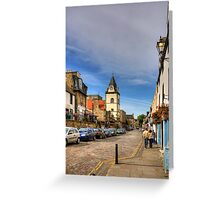 West along the High Street Greeting Card