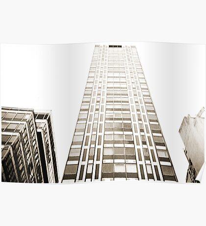 Tall Building Lomo Argentina Poster