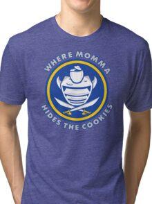 Where Momma Hides the Cookies Tri-blend T-Shirt