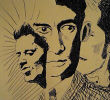 Woody, Kafka and I by Si J. Pearson