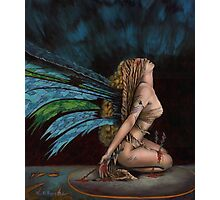 Dark Fairy Photographic Print