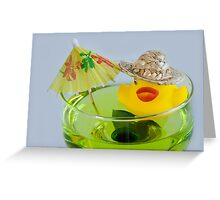 Party Duck Greeting Card