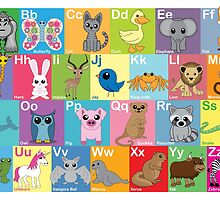 The Animal Alphabet by mstiv