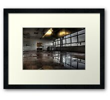 Home Economics Framed Print