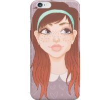 Girly Girl iPhone Case/Skin