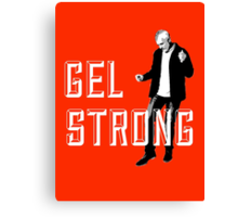 Gel Strong - Knockout Canvas Print