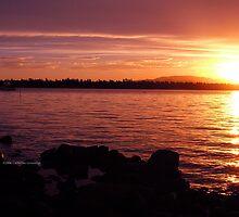 Tasmanian Sunset No. 8 by Catherine Liversidge