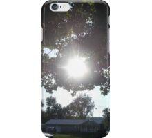 Shinning Through iPhone Case/Skin