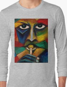 Miles Davis (abstract)  Long Sleeve T-Shirt