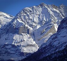 Grindewald Winter Scene by Alec Owen-Evans