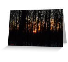 Waking up the Sun :) Greeting Card
