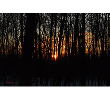 Waking up the Sun :) Photographic Print