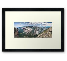 Yosemite Valley From Taft Point Framed Print