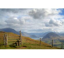 Stile with a View Photographic Print