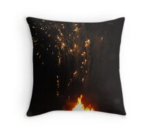 Firelight Throw Pillow