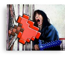Here's Minecraft!  Canvas Print
