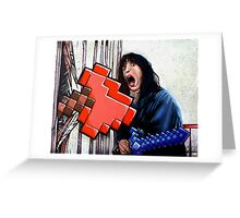 Here's Minecraft!  Greeting Card