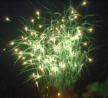 Green burst by jeanmarie