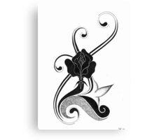 impresion of flower spirit Canvas Print