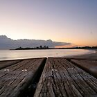 Mooloolaba Beach at sunrise by Trifle