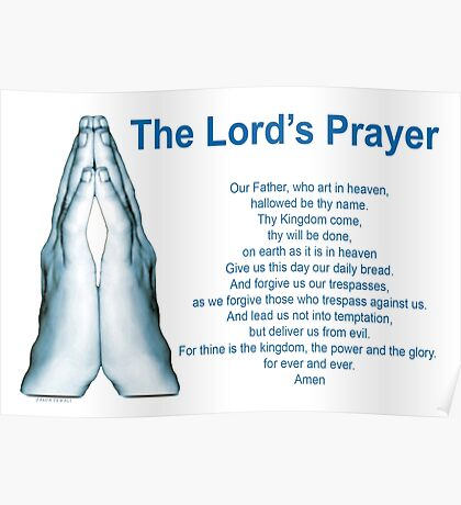 The Lords Prayer 1 Poster