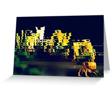 Honeysuckle reflections Greeting Card