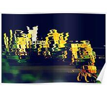Honeysuckle reflections Poster
