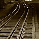 Railroad Tracks by Chris  Parlee