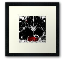 Its' wrong for me to love you-Art+Products Design Framed Print
