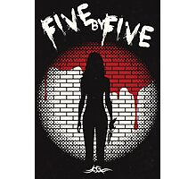 Five By Five Photographic Print