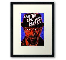 Breaking Bad - The One Who Knocks Framed Print