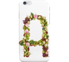 Capital Letter A  iPhone Case/Skin