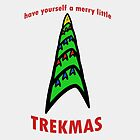 Have Yourself A Merry Little Trekmas by geekyness