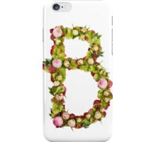Capital Letter B Part of a set of letters, Numbers and symbols  iPhone Case/Skin
