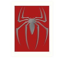 Spiderman suit spider Art Print